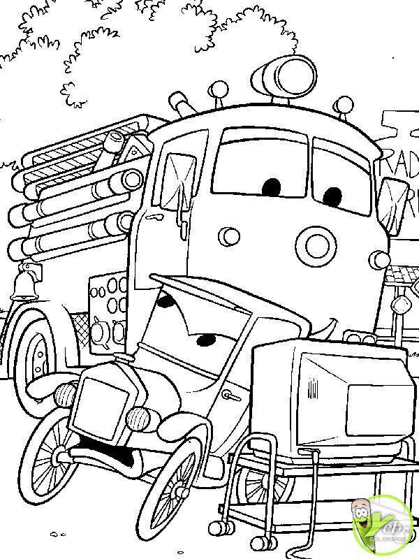 Dessin Camion Pompier A Imprimer Gratuit tout Dessin Pompier A Imprimer
