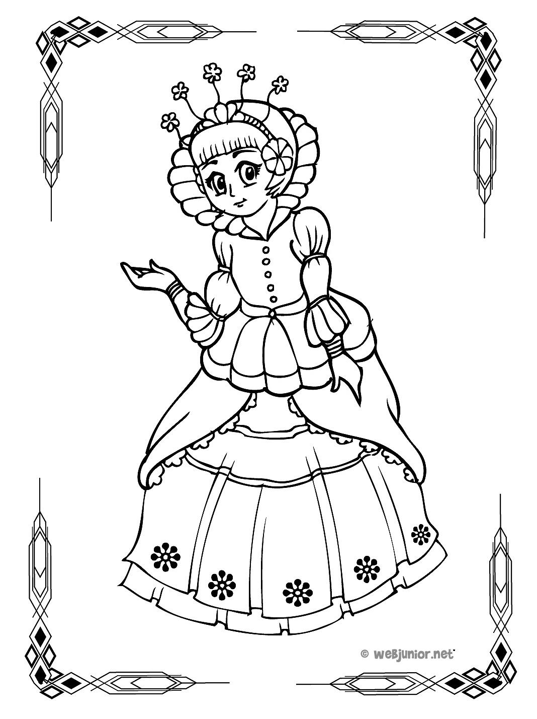 Dessin Chateau Princesse - Primanyc à Coloriage Chateau Princesse