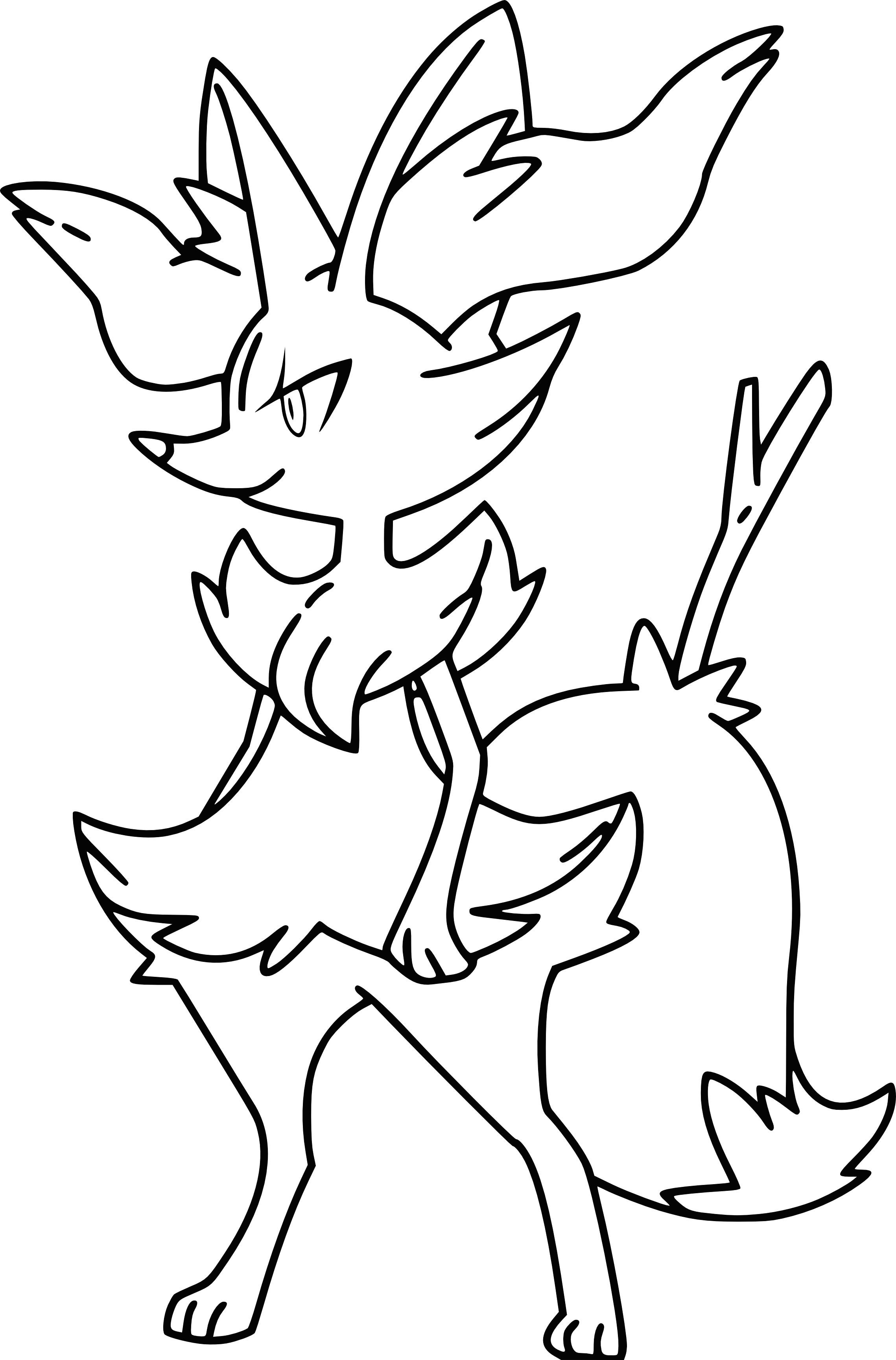 Dessin Colorier Pokemon Imprimer Gallery Avec Coloriage avec Dessins A Colorier
