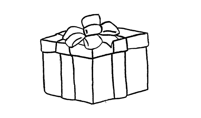 Dessin Colorier Sapin De Noel Facile Avec Coloriage Sapin intérieur Dessin Cadeau De Noel