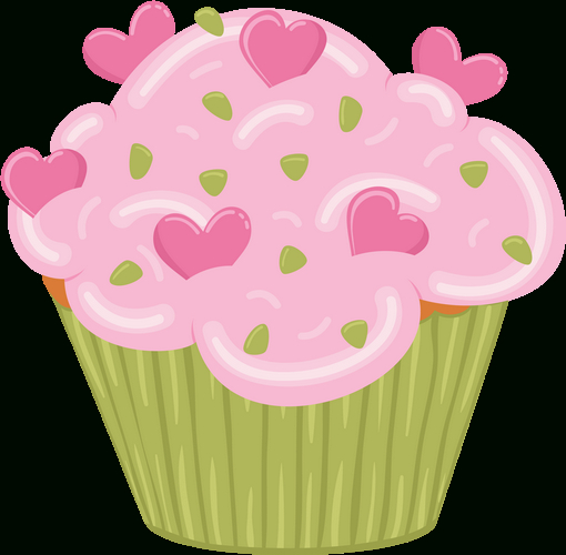 Dessin Couleur : Cupcake destiné Cup Cake Dessin
