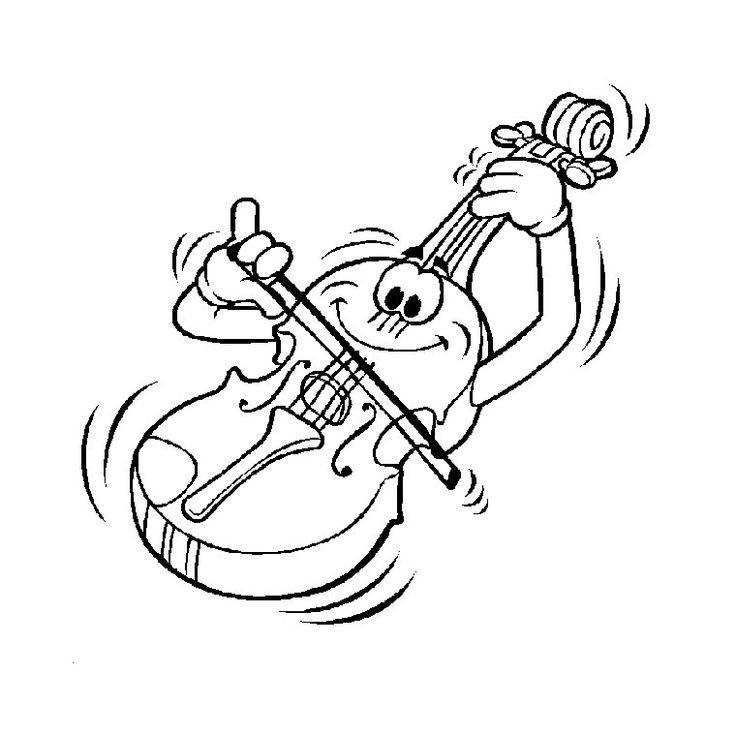 Dessin D Instrument De Musique A Imprimer | Coloriage serapportantà Dessin D Instrument De Musique