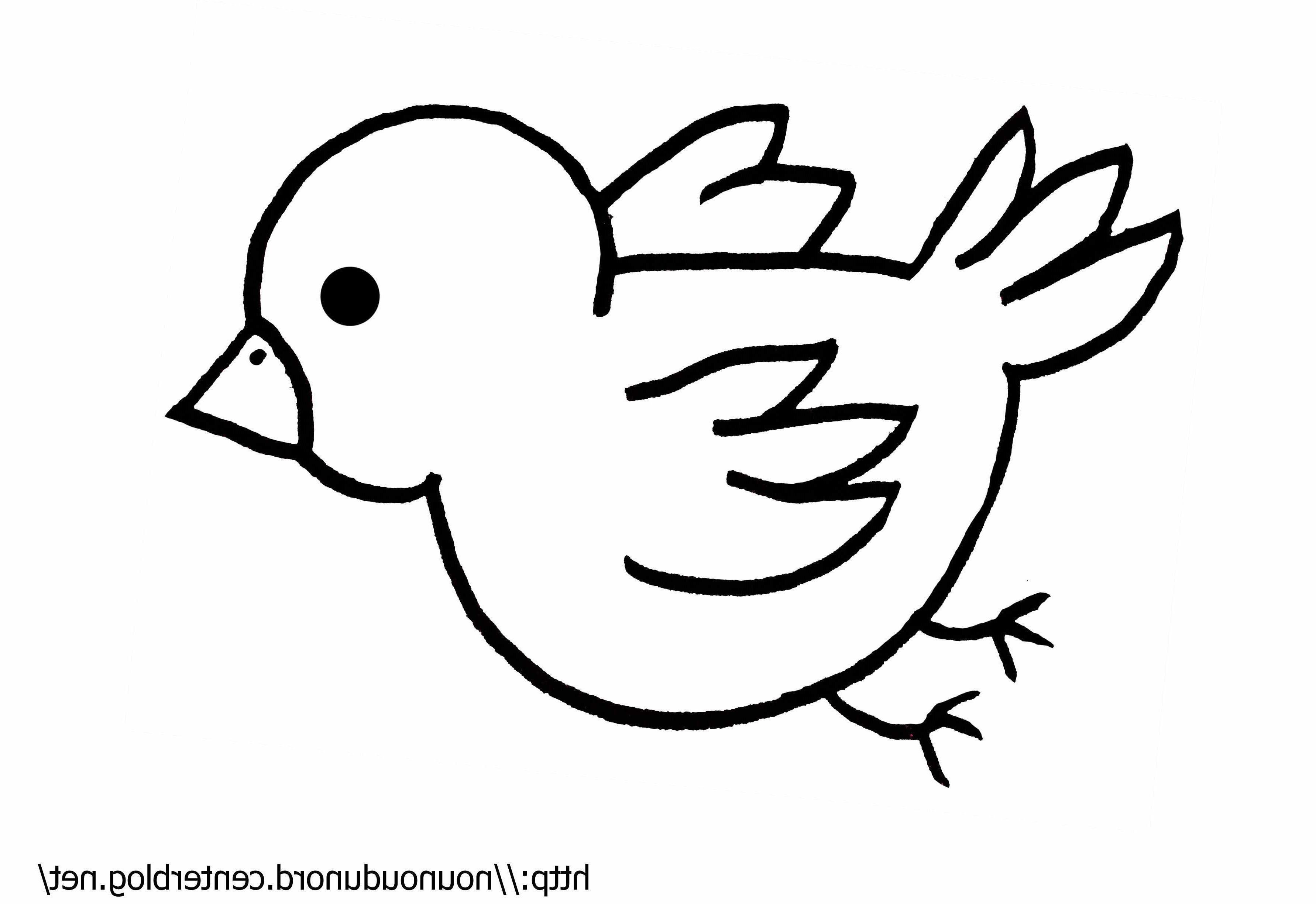 Dessin D Oiseau Simple (Avec Images)   Dessin Oiseau tout Coloriage Oiseaux A Imprimer