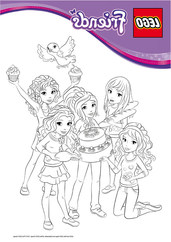 Dessin De Best Friends Beau Images Coloriage Légo Friends intérieur Dessin Animé Lego Friends
