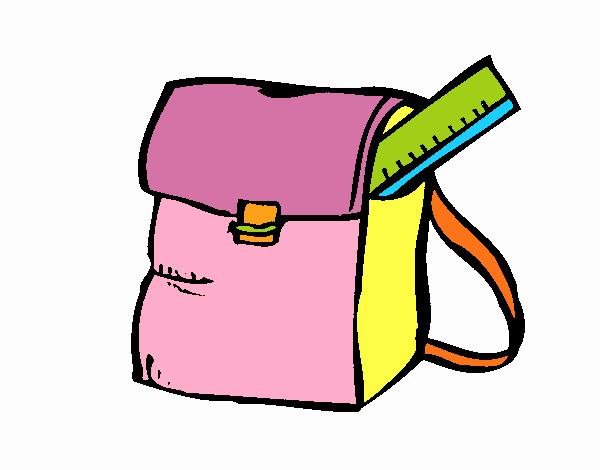 Dessin De Cartable Colorie Par Membre Non Inscrit Le 01 De encequiconcerne Coloriage Cartable