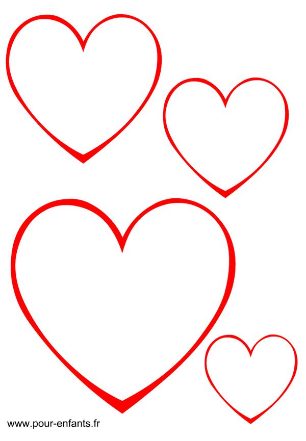 Dessin De Coeur À Découper … | Patchwork, Lembrancinhas De serapportantà Dessin A Imprimer Coeur