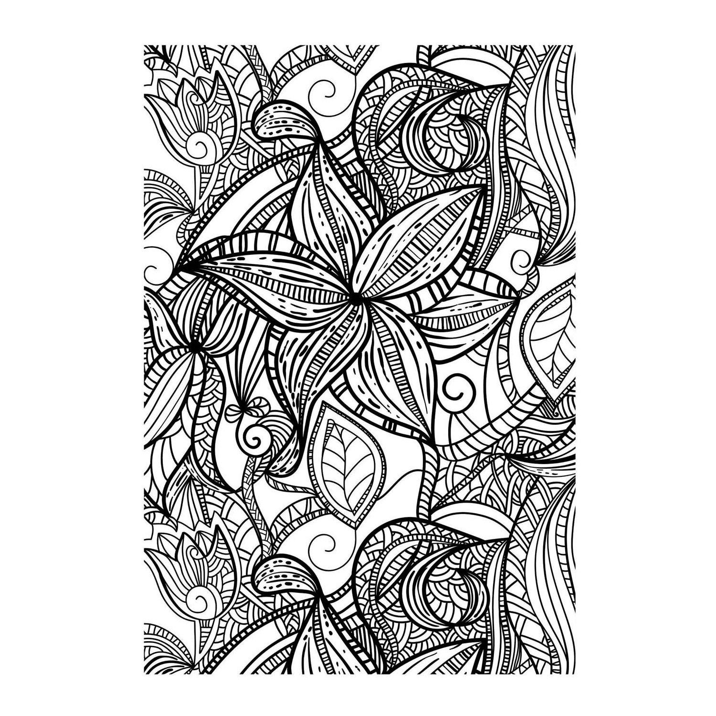 Dessin De Coloriage Art Thérapie À Imprimer - Cp01591 destiné Coloriage Art Thérapie