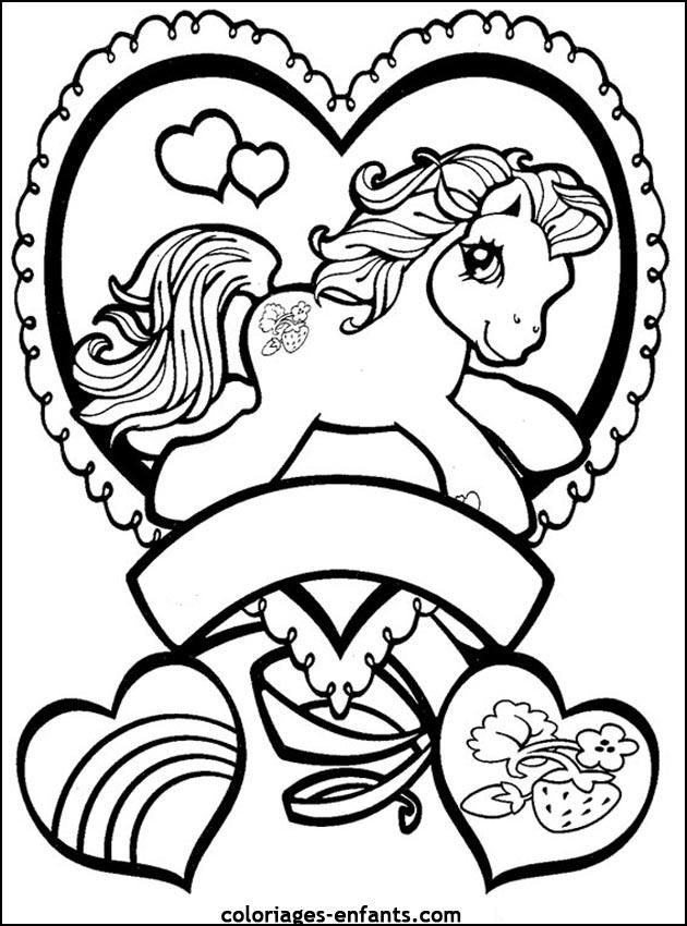 Dessin De Coloriage Cheval À Imprimer - Cp07329 avec Photo De Chevaux A Imprimer