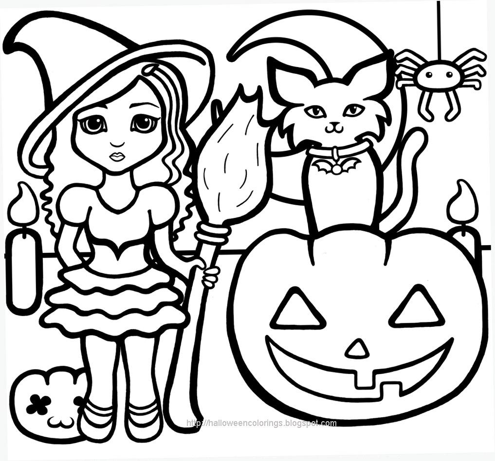 Dessin De Coloriage Halloween À Imprimer - Cp13101 destiné Dessin De Citrouille A Imprimer Gratuit