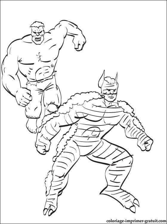 Dessin De Coloriage Hulk À Imprimer - Cp14271 avec Coloriage Hulk A Imprimer Gratuit