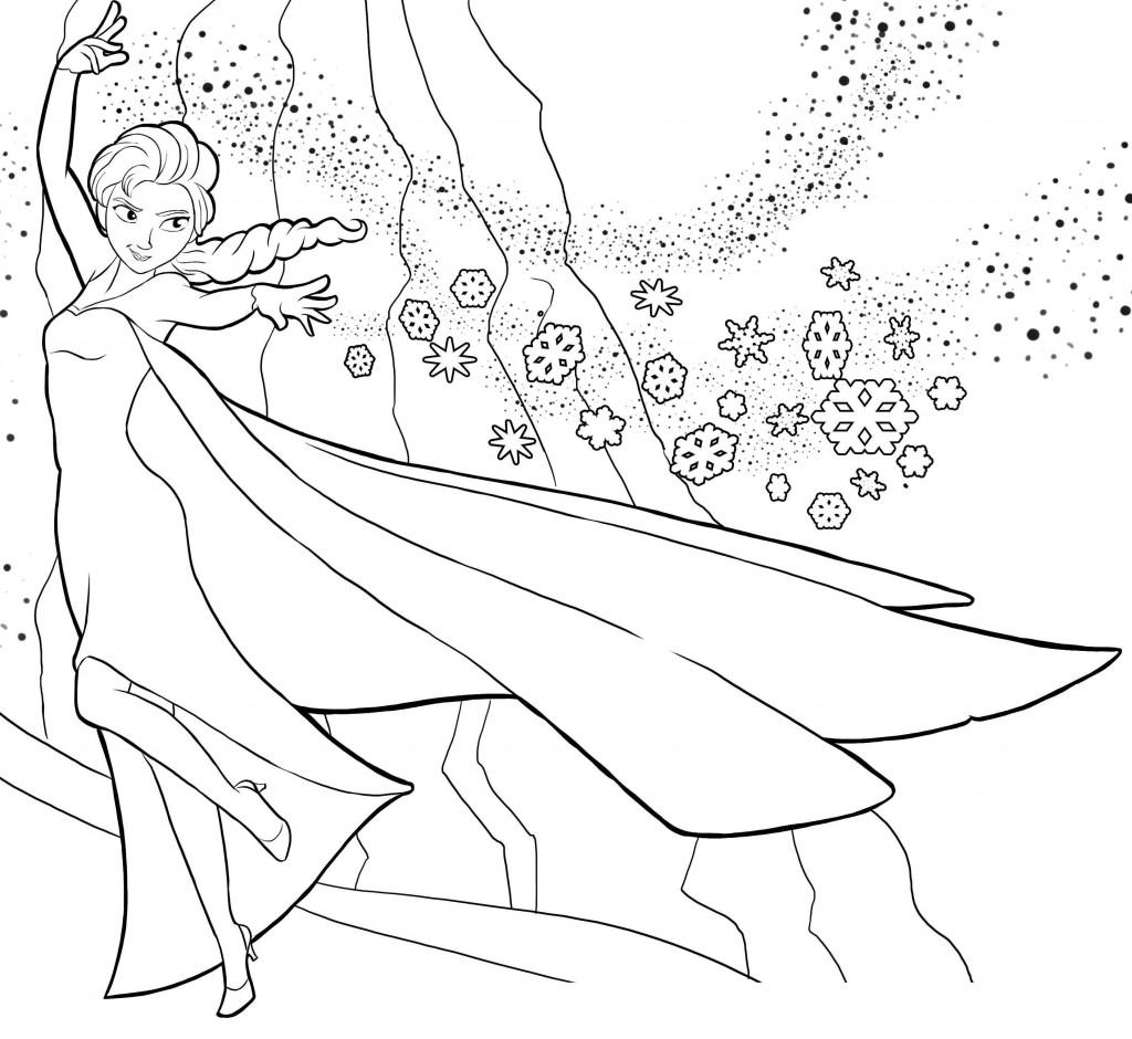 Dessin De Coloriage Reine Des Neiges À Imprimer - Cp22692 intérieur Coloriage À Imprimer Gratuit Reine Des Neiges
