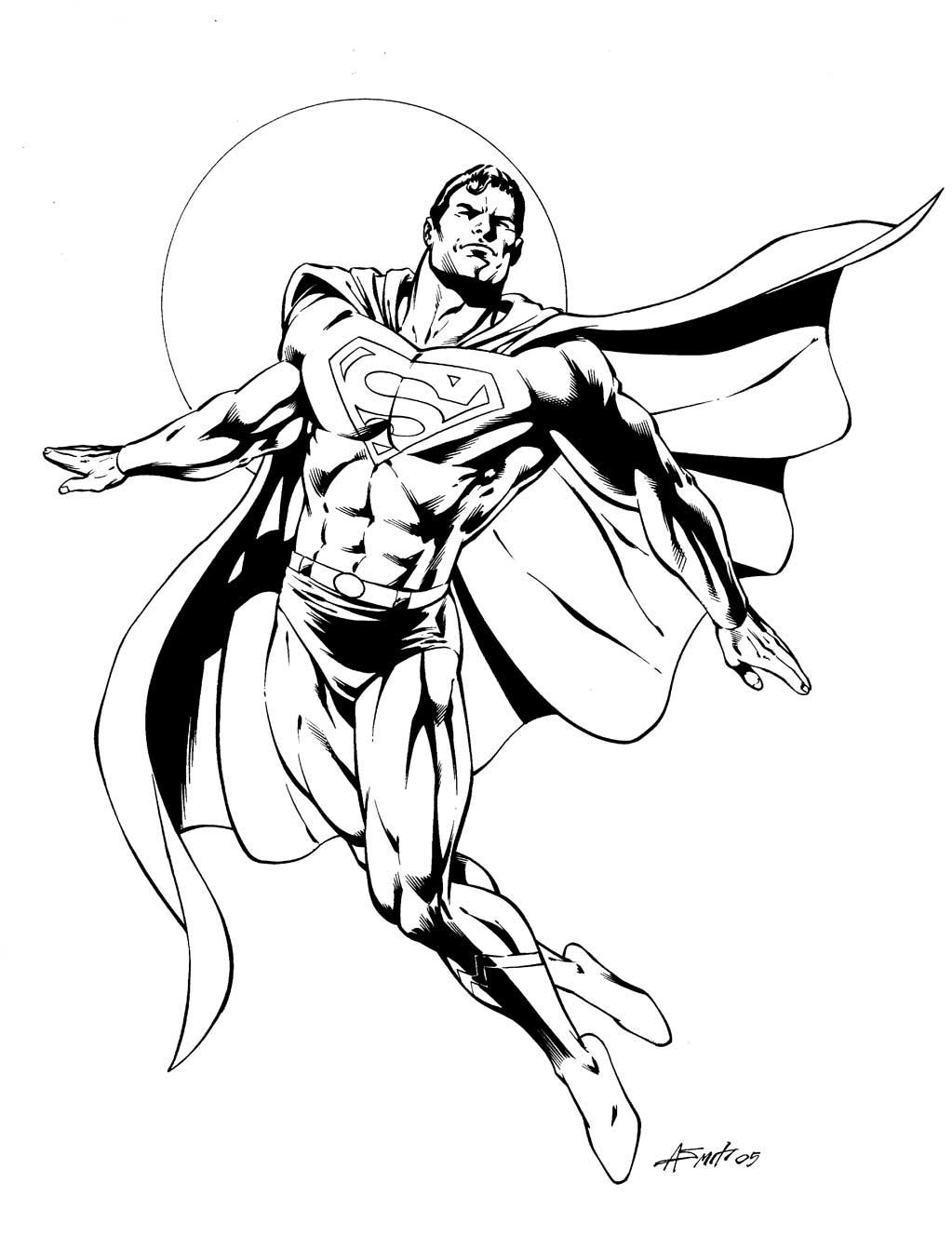 Dessin De Coloriage Superman À Imprimer - Cp25149 avec Coloriage Superman A Imprimer Gratuit
