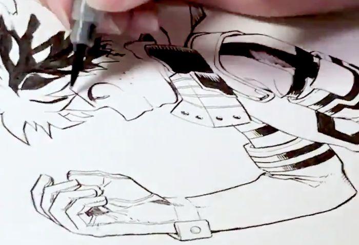Dessin De Izuku - Les Dessins Et Coloriage avec Coloriage My Hero Academia A Imprimer