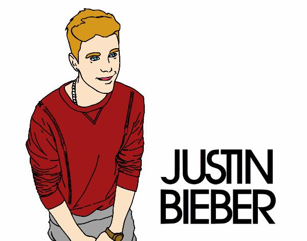 Dessin De Justin Bieber Colorie Par Membre Non Inscrit Le intérieur Dessin De Justin Bieber