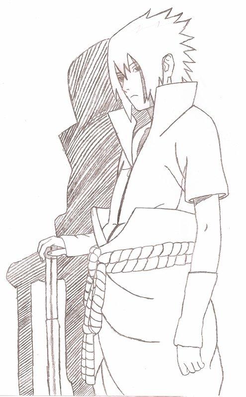 Dessin De Moi. Sasuke Shippuden - Actu Naruto, Images tout Dessin Naruto Shippuden