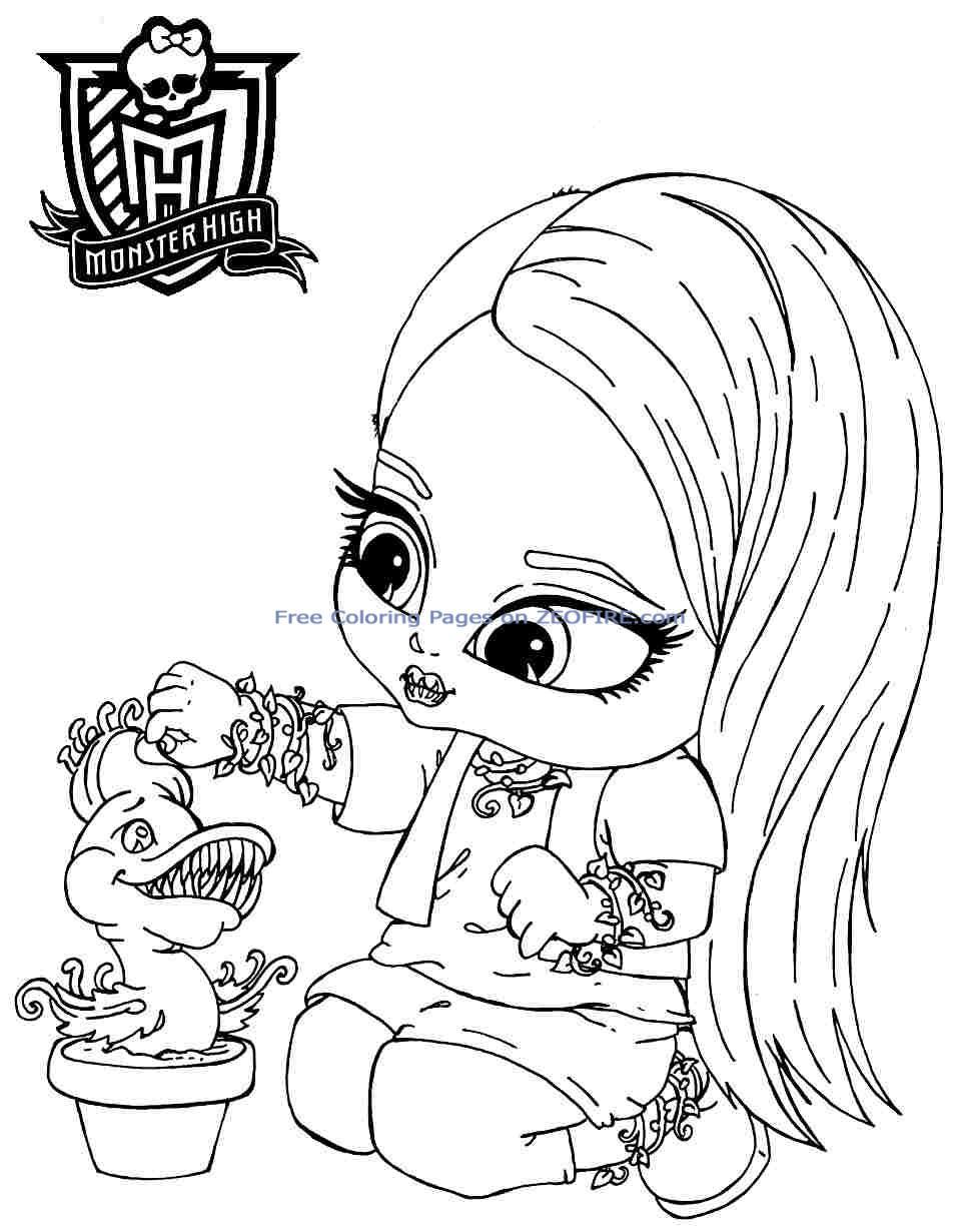 Dessin De Monster High À Imprimer->Dessin De Monster High dedans Coloriage Baby Boss A Imprimer