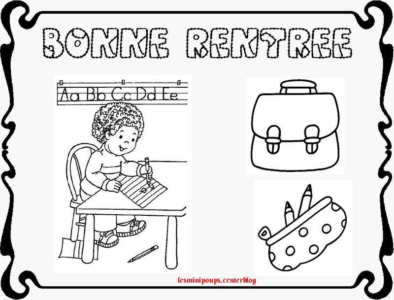 Dessin De Rentree Des Classes - Ohbq tout Coloriage Rentre Des Classes Maternelle