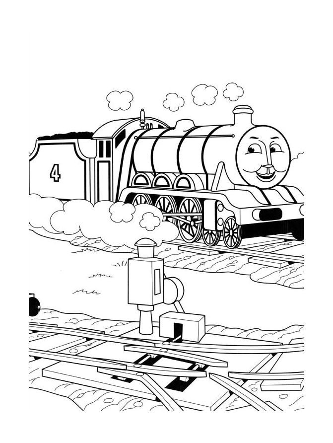 Dessin De Thomas Et Ses Amis Gratuit À Imprimer Et pour Dessin Animé Train Thomas