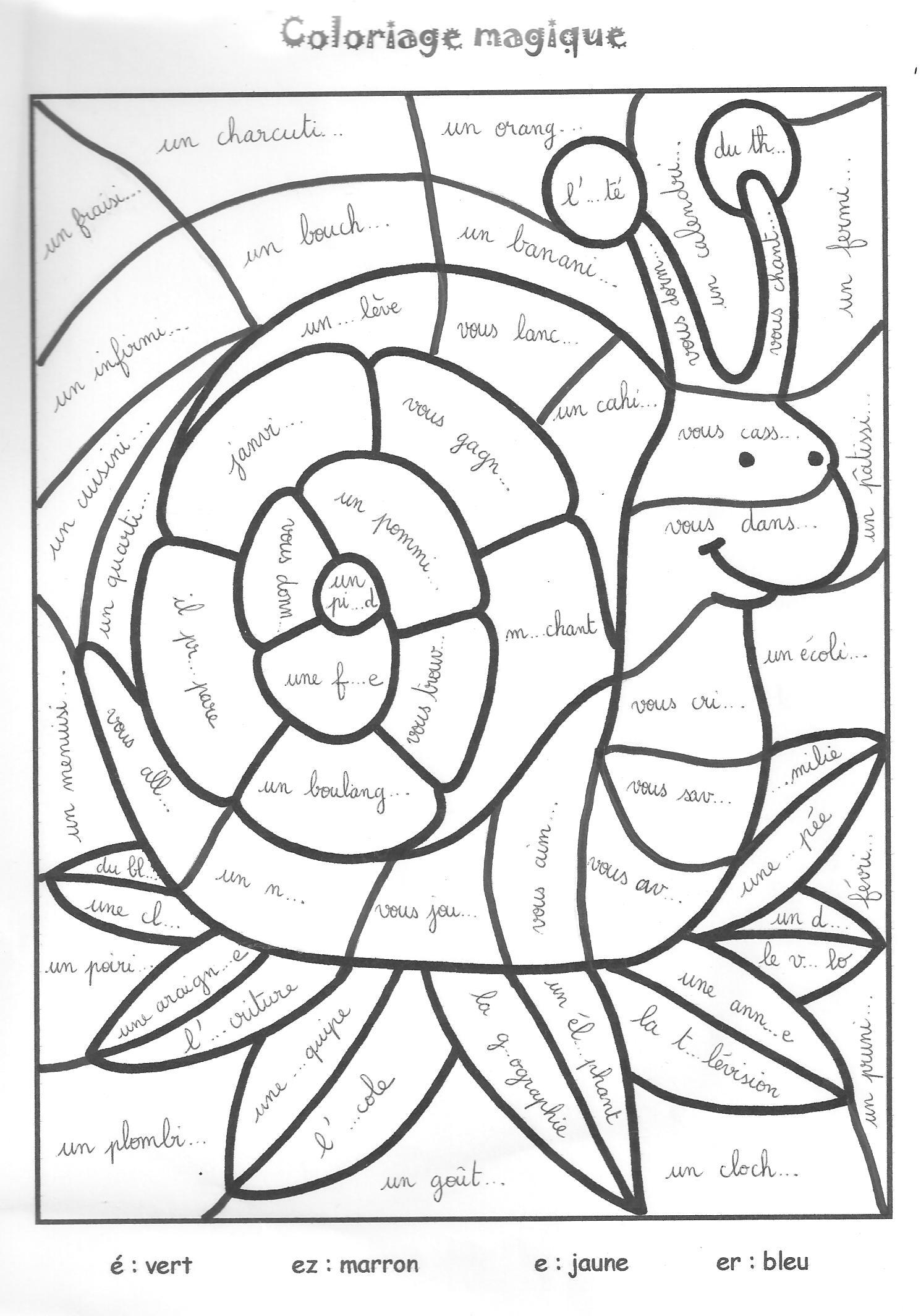 Dessin Escargot Maternelle dedans Coloriage À Imprimer Hugo L Escargot