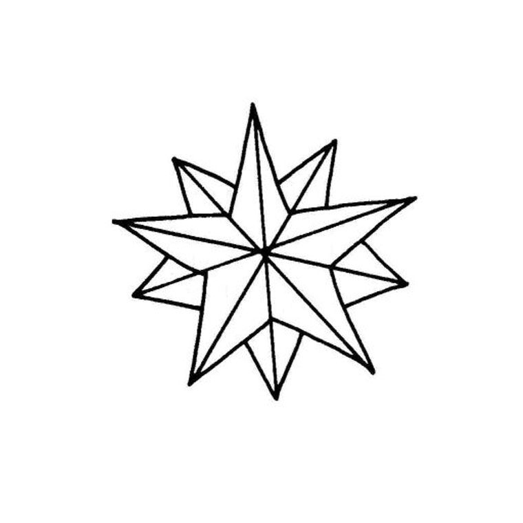 Dessin Étoile De Noël - Recherche Google | Star Coloring concernant Coloriage Étoile Filante
