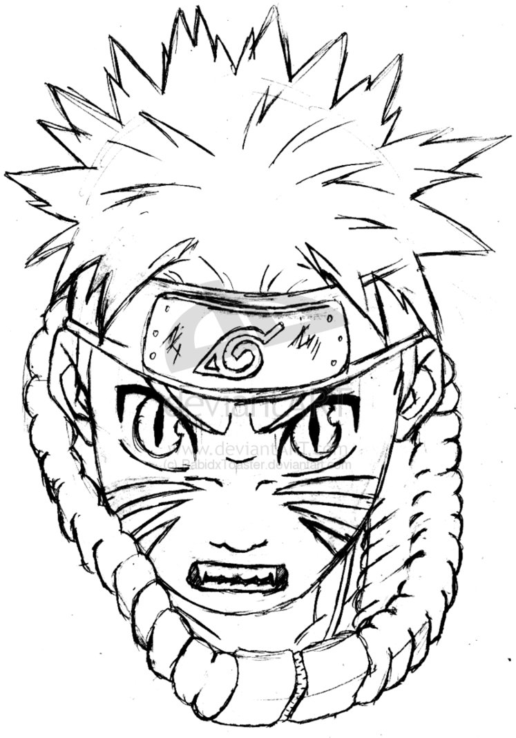 Dessin Facile Manga Naruto tout Dessin Naruto Shippuden A Imprimer