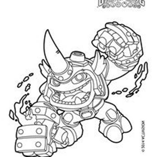 Dessin Force Cool Images Coloriage Skylanders Swap Force intérieur Coloriage Skylanders Swap Force