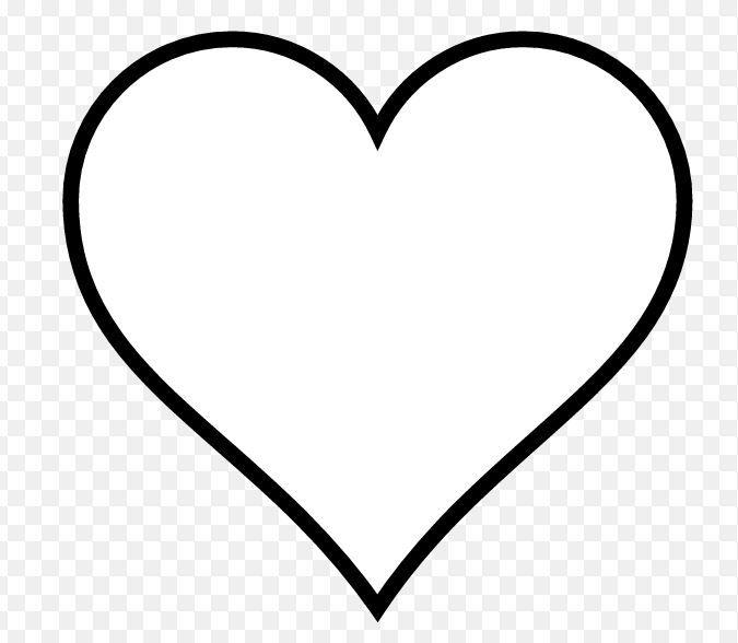 Dessin Gros Coeur | Dessin De Coeur, Dessin Coeur, Gros Coeur avec Dessin A Imprimer Coeur