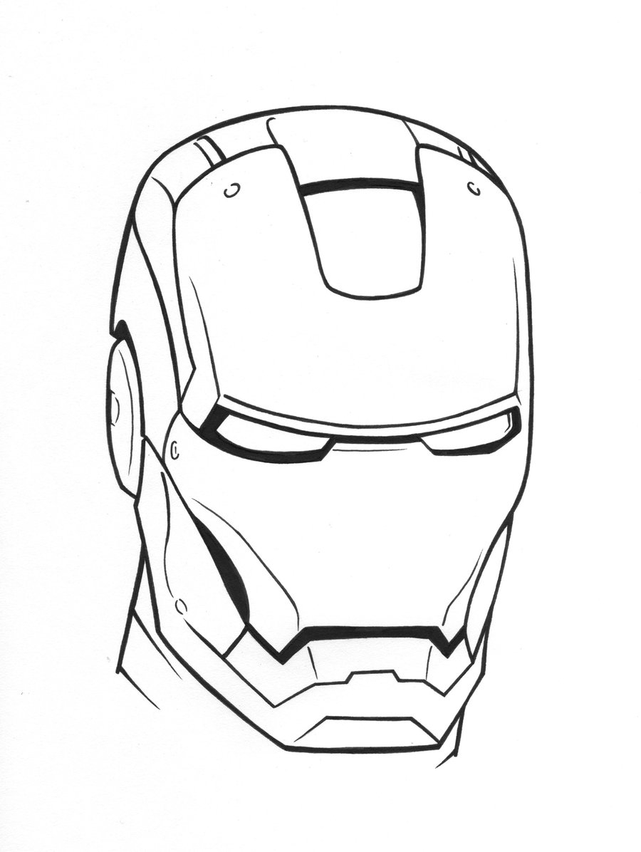Dessin Iron Man 2 serapportantà Coloriage Iron Man À Imprimer