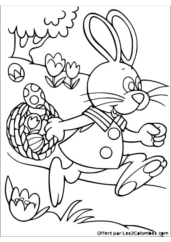 Dessin Magique Paques Ce1 pour Coloriage De Paques A Imprimer
