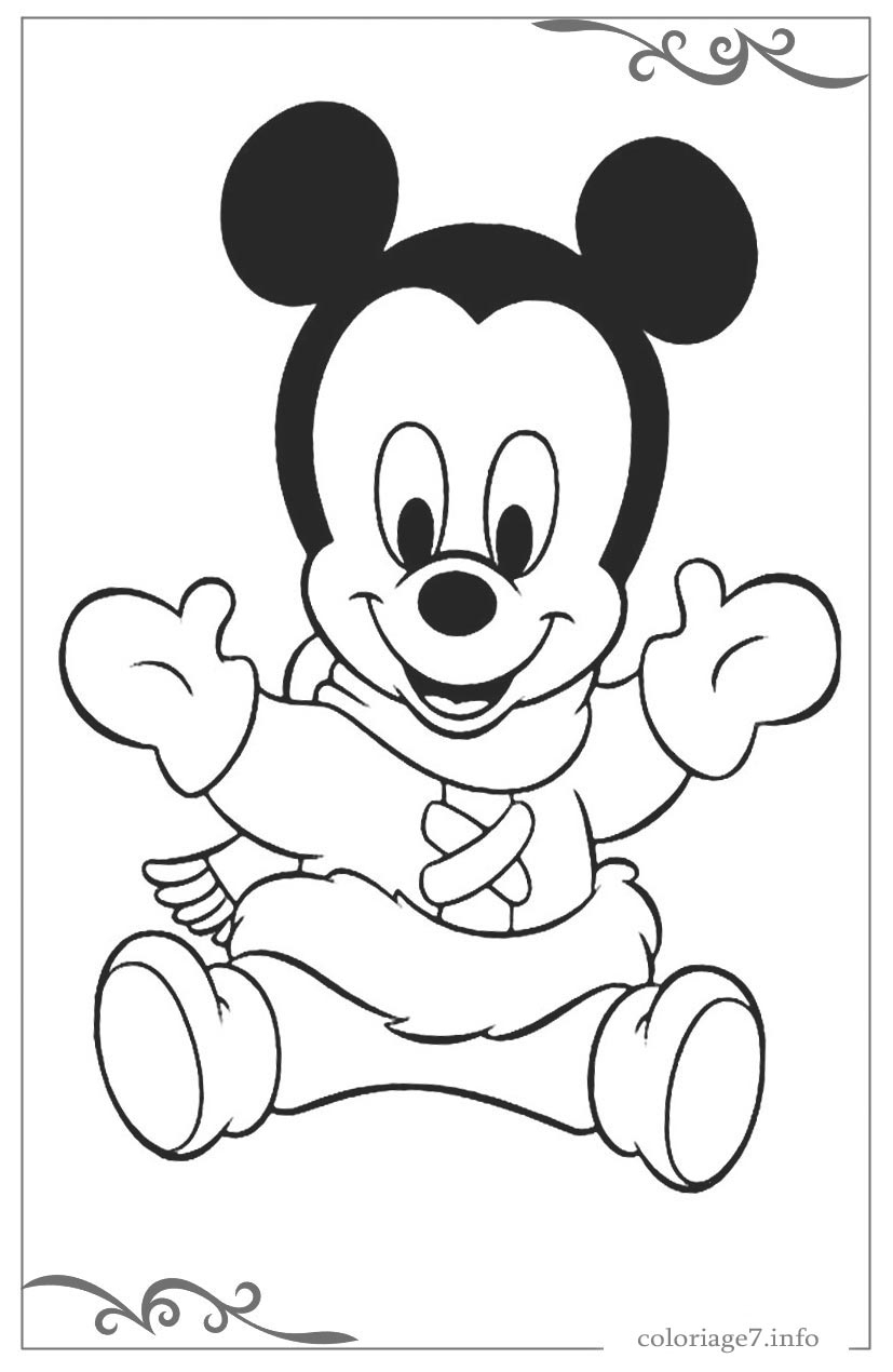 Dessin Mickey Facile A Faire – Teenzstore tout Coloriage Mickey