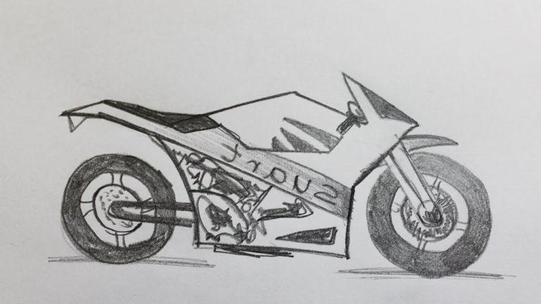 Dessin Moto Cross Beau Photos Ment Dessiner Une Moto pour Moto Cross A Dessiner