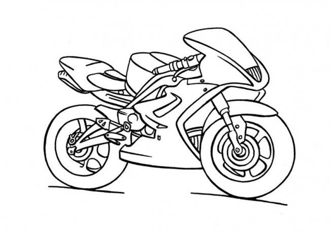 Dessin Moto Cross Imprimer Gratuit destiné Moto Cross A Dessiner