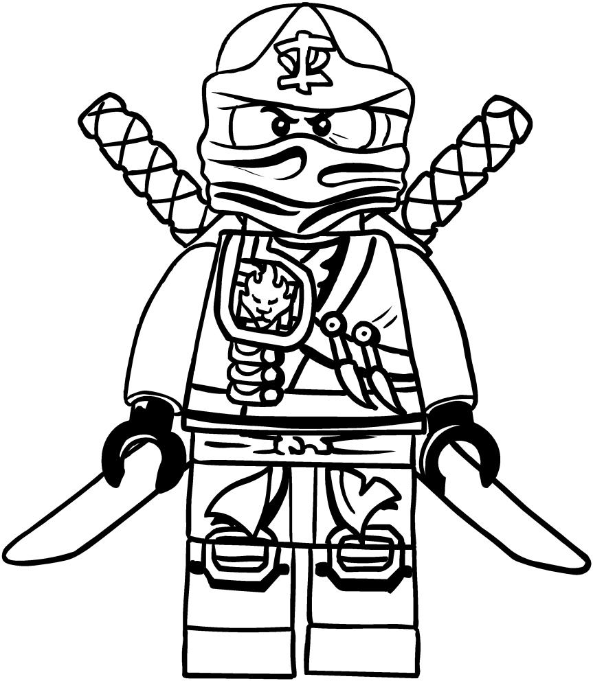 Dessin Ninjago Kai À Imprimer Dessin Ninjago Kai À avec Coloriage Ninjago Lloyd A Imprimer