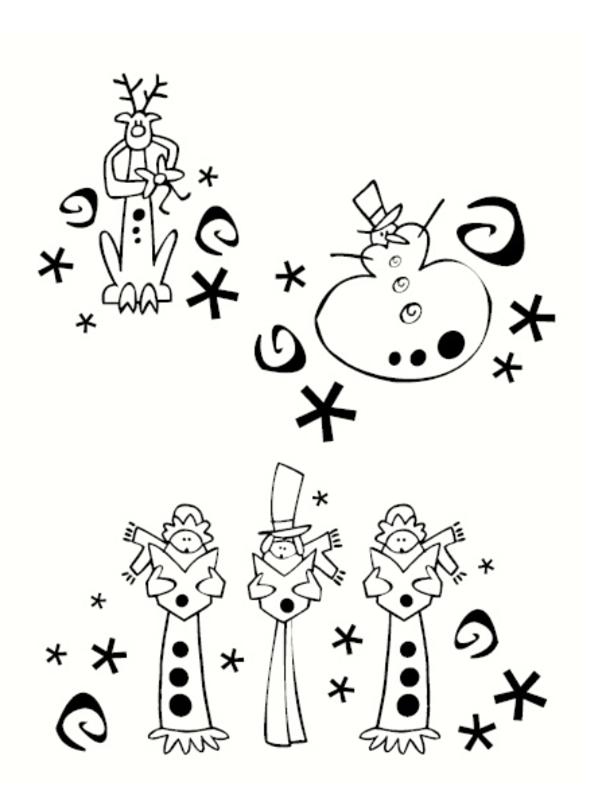 Dessin Noël Imprimer dedans Images De Noel À Imprimer Gratuitement