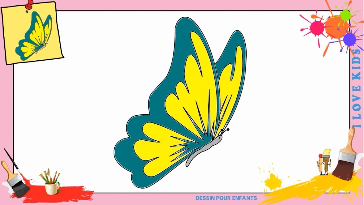 Dessin Papillon 2 - Comment Dessiner Un Papillon serapportantà Comment Dessiner Un Diable Facilement