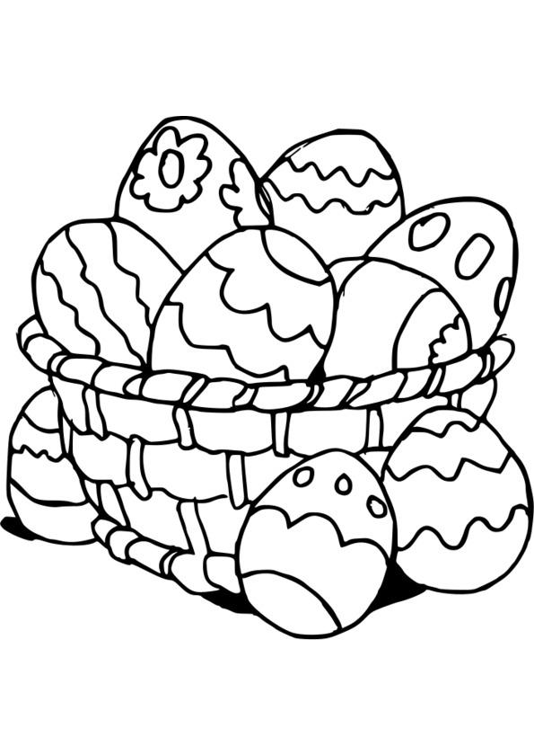 Dessin Paques 2014 concernant Coloriage À Imprimer Joyeuses Pâques