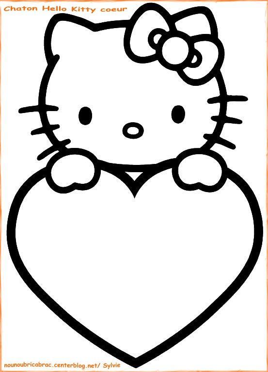 Dessin Plastique Fou | Coloriage Hello Kitty, Dessin Hello intérieur Dessin A Imprimer Hello Kitty