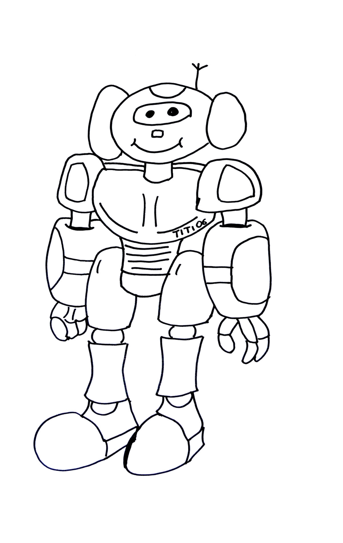 Dessin Robot Transformers concernant Coloriage Siborge ? Imprimer