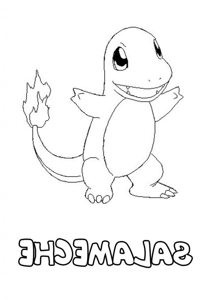 Dessin Salameche Unique Images Coloriage Pokemon Salameche à Coloriage De Pokémon À Imprimer