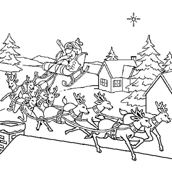 Dessin Traineau Du Pere Noel A Imprimer | Kozbeszerzesek serapportantà Imprimer Dessin Pere Noel Gratuit