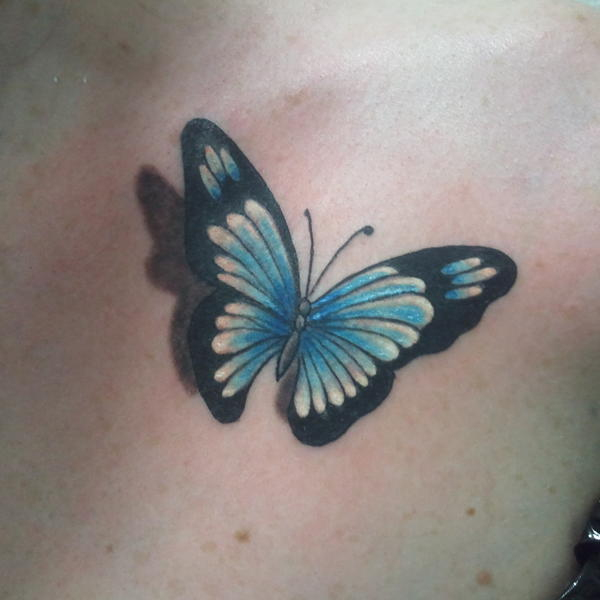 Dessin Uage Papillon Couleur | Cochese Tattoo avec Dessin De Papillon En Couleur