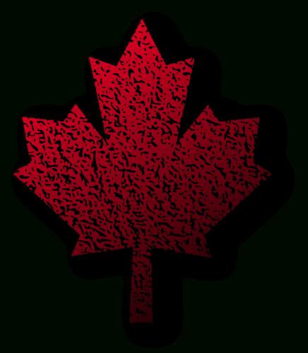 Dessin Vectoriel De Feuille D'Érable Canadienne | Vecteurs concernant Feuille D Erable Dessin