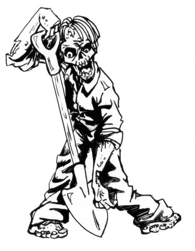 Dessin Zombie Qui Fait Peur Di 2020 dedans Zombie Qui Fait Peur