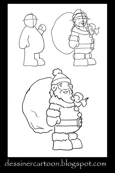 Dessiner Cartoon: November 2009 avec Comment Dessiner Le Pere Noel