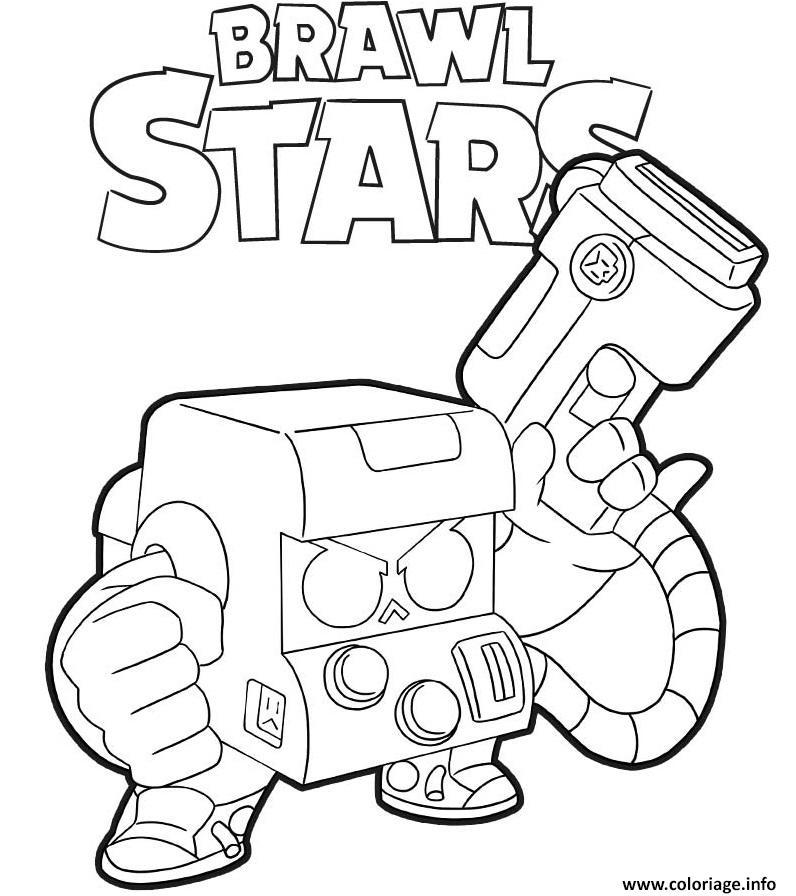 Dessins Brawl Stars - Recherche Google, 2020   Boyama concernant Coloriage Brawl Stars