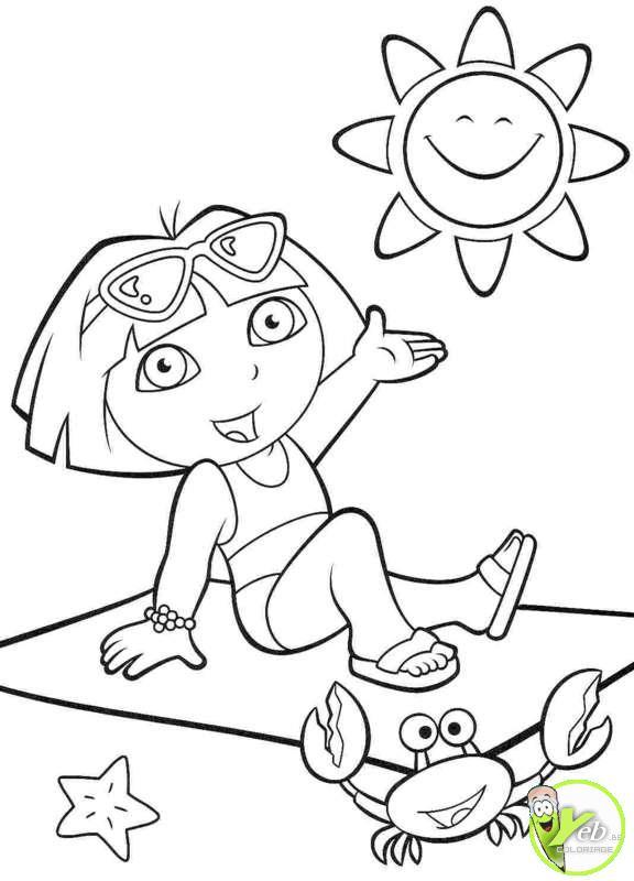 Dessins En Couleurs À Imprimer : Dora, Numéro : 19488 encequiconcerne Dessin A Colorier Dora Gratuit A Imprimer