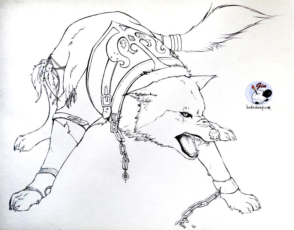 Dessins En Couleurs À Imprimer : Loup, Numéro : 336833 tout Coloriage Loup