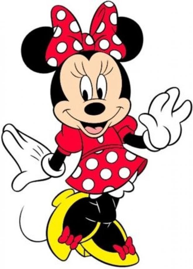Dessins En Couleurs À Imprimer : Minnie Mouse, Numéro : 225825 intérieur Dessin Minnie À Imprimer
