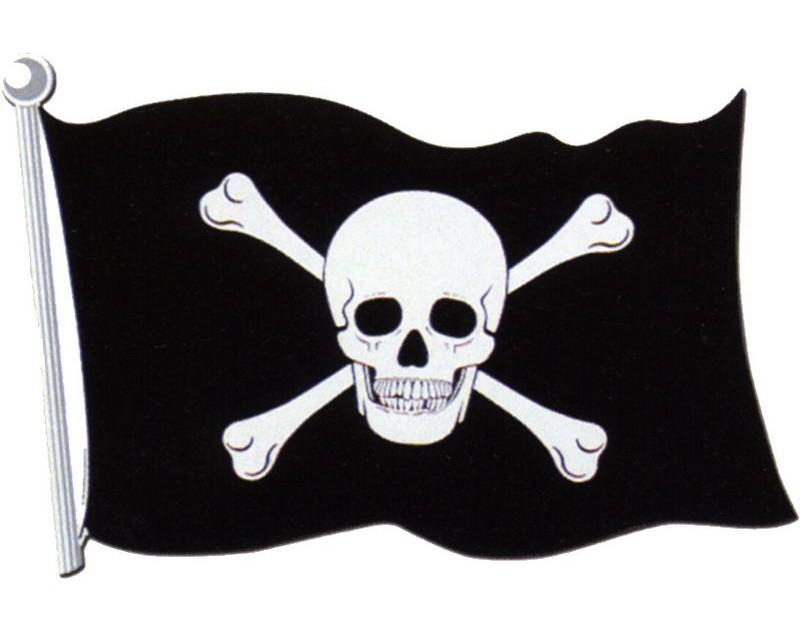 Dessins En Couleurs À Imprimer : Pirate, Numéro : 14100 dedans Drapeau Pirate Coloriage