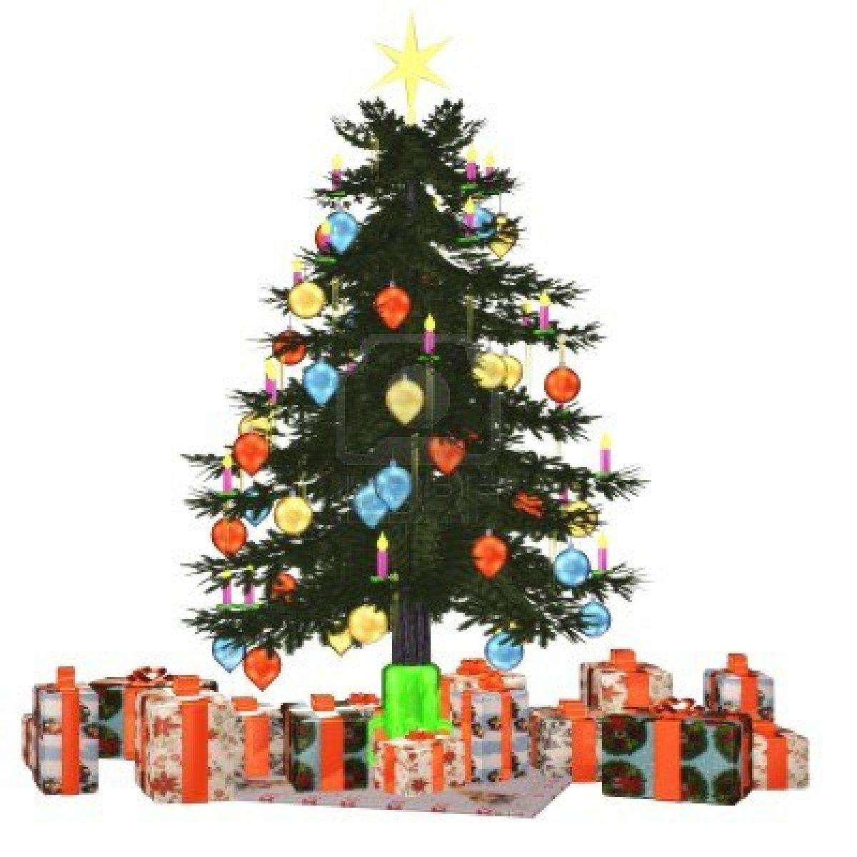 Dessins En Couleurs À Imprimer : Sapin De Noël, Numéro destiné Sapin De Noel Avec Cadeaux